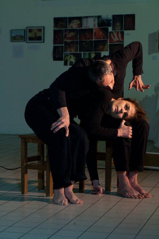Performance du 09/03/2018 Danse : Anne Marie Toffolo et Roddy Laroche Samsonoff Chorégraphie : Brigitte Morel Musique : Jean Baptiste Fontanarosa photo : Louise Dumont